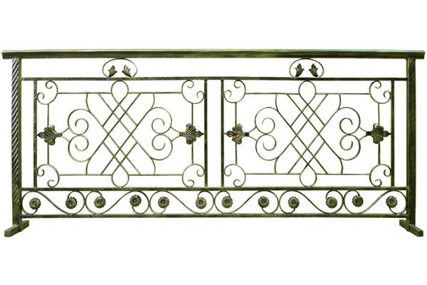 铁艺阳台护栏效果图